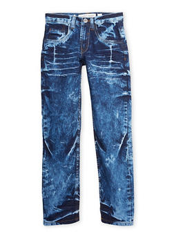 Boys 8-20 Bleached Jeans - 1720073150001