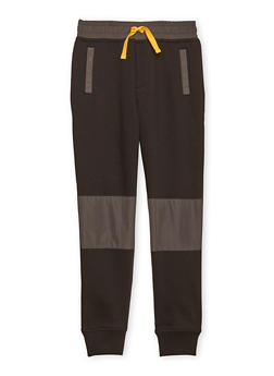Boys 8-16 French Toast Moto Joggers - 1721068320011