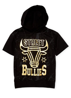 Boys 8-20 Hooded Tee with Street Bullies Graphic - 1721072700056