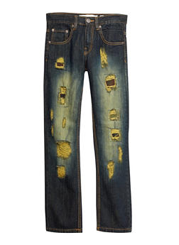 Boys 8-20 Distressed Jeans - 1721073150006