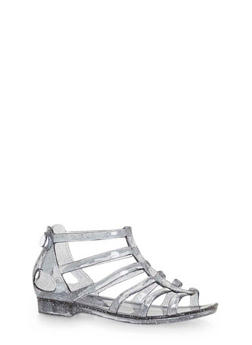 Girls Gladiator Jelly Sandals - 1737038340016