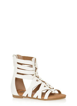 Girls 5-10 Studded Strappy Gladiator Sandals - 1737061120285