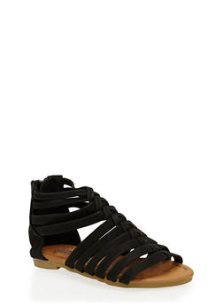 Girls 5-10 Braided Gladiator Sandals - 1737061120403
