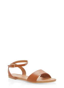 Girls 11-4 Ankle Strap Sandals - 1737064790053