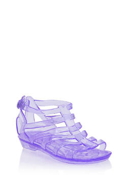 Girls Jelly Gladiator Sandals - 1737068067269
