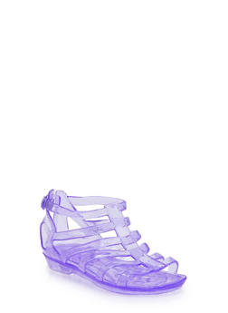 Girls 11-4 Jelly Gladiator Sandals - 1737068067270