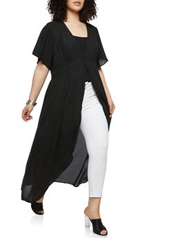 Plus Size Maxi Top - 1803051063649