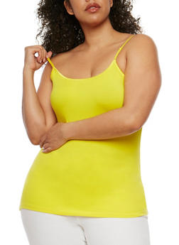 Plus Size Basic Cami Top - 1813054260630