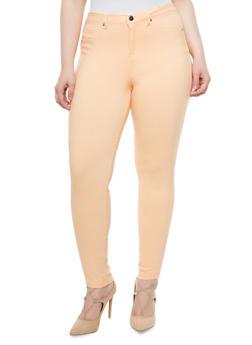 Plus Size Super Stretch Jeggings - 1870056570170
