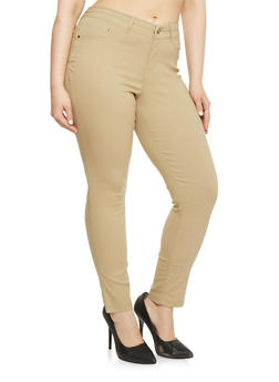 Plus Size WAX Hyperstretch Push Up Pants - 1870056571991