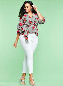 Plus Size Cello Skinny Jeans - 1870063156643