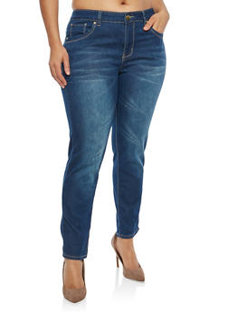 Plus Size VIP Push Up Jeans - 1870065302735
