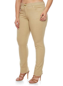 Plus Size VIP Push Up Jeans - 1870065307316