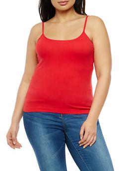 Plus Size Seamless Cami - 1916054260022