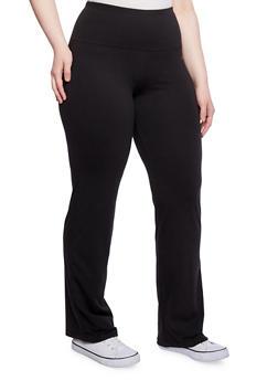 Plus Size Yoga Pants - 1961038348020