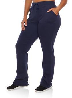 Plus Size Sweatpants - 1961062700022