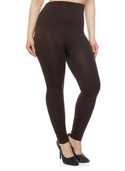 Plus Size Fleece Lining Leggings - 1969001441027