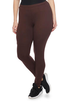 Plus Size Lightweight Leggings - 1969054260011
