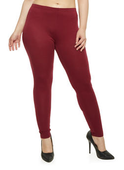 Plus Size Lightweight Leggings - 1969054260011