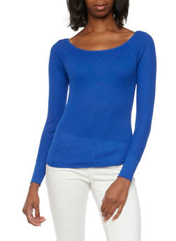 Thermal Top with Scoop Neck - 3014066240615