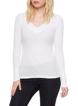 Thermal Top with V Neck - 3014066241237