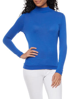 Basic Long Sleeve Turtleneck - 3014066249186