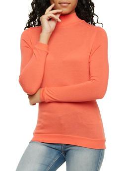Basic Long Sleeve Turtleneck - 3014066249186