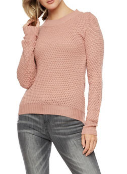 Long Sleeve Knit Sweater - 3020038347107