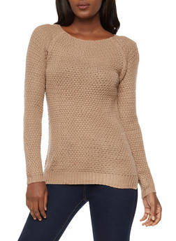 Long Sleeve Knit Sweater - 3020038348108