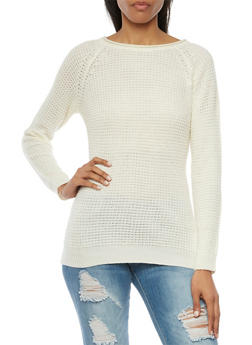 Textured Sweater - IVORY - 3020054268907