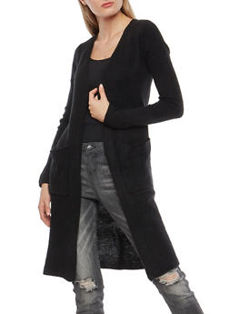 Two Pocket Open Front Duster - 3022015051369