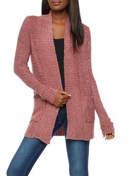 Textured 2 Pocket Cardigan - 3022015051370