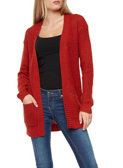 Heavy Knit Cardigan - 3022038341206