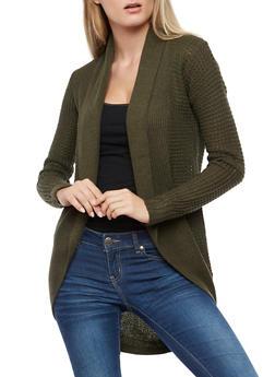 Heavy Knit Cardigan - 3022038341208