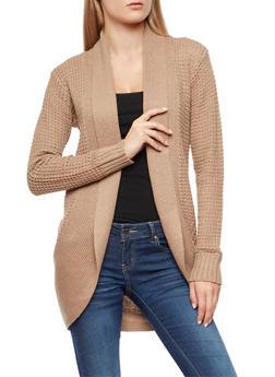 Heavy Knit Cardigan - 3022038343208