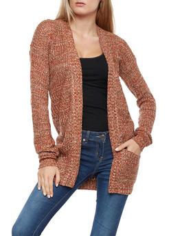 Multi Color Knit Cardigan - 3022038345207