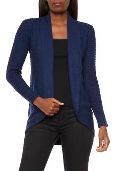 Heavy Knit Cardigan - 3022038345208