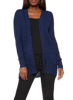 Heavy Knit Cardigan - 3022038347213