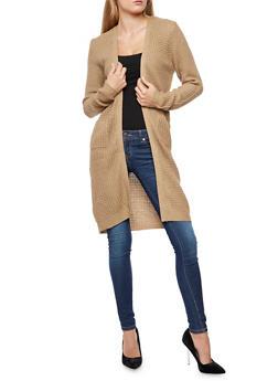 Heavy Knit Duster - 3024038347210