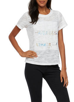 """Burnout T Shirt with """"Save the Trees"""" Graphic - 3033058750490"""