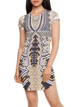 Stretch Mini Dress - 3033067332128