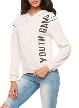 Graphic Youth Gang Hoodie - 3034051066347