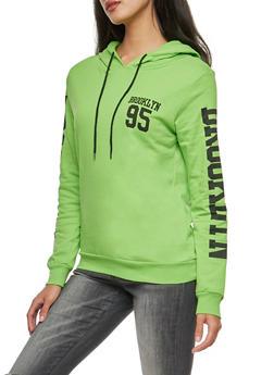 Brooklyn Graphic Hooded Sweatshirt - 3036033870011