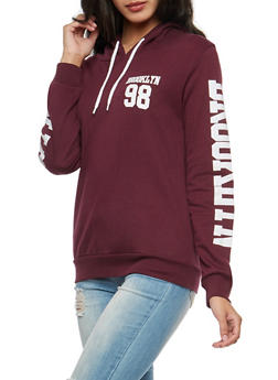Brooklyn Graphic Hooded Sweatshirt - 3036033870011