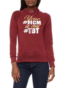 Long Sleeve Graphic Hooded Sweatshirt - 3036038342501