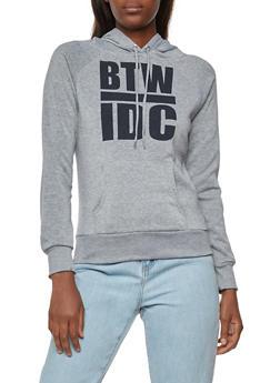 BTW IDC Graphic Hooded Sweatshirt - 3036038342502