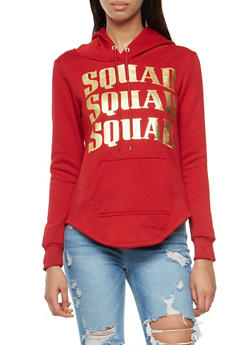 Squad Graphic Hooded Sweatshirt - 3036038342518