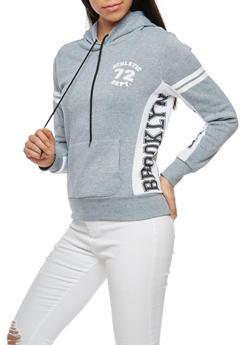 Brooklyn Athletic Graphic Hooded Sweatshirt - 3036038342520