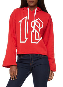 Lipstick Diamond Graphic Oversized Sweatshirt - 3036038342546