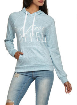 But First Coffee Graphic Hooded Sweatshirt - 3036038342559